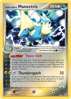 Team Aqua's Manectric