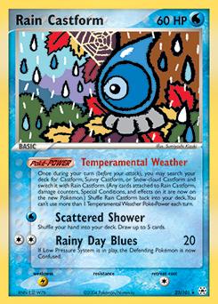 Rain Castform