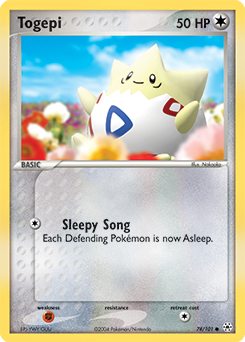 togepi ex hidden legends tcg card database pokemoncom