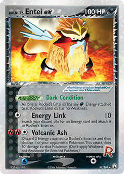 Rocket's Entei ex
