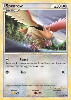 Spearow Card