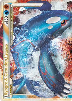 Kyogre & Groudon LEGEND