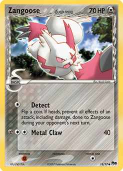 Zangoose δ