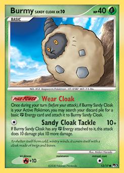 Burmy Sandy Cloak