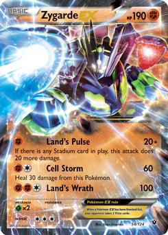 Zygarde | XY—Fates Collide | TCG Card Database | Pokemon.com