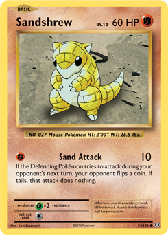 Sandshrew | XY—Evolutions | TCG Card Database | Pokemon.com