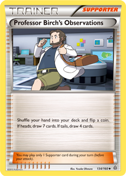 Professor Birch's Observations