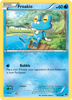 Froakie | XY—Kalos Starter Set | TCG Card Database ...