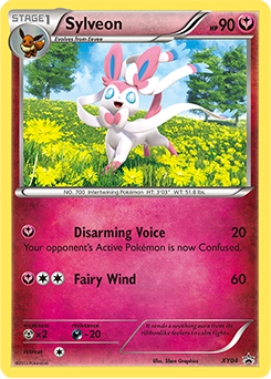 Pokemon Eevee Sylveon Card Sylveon | Poké...