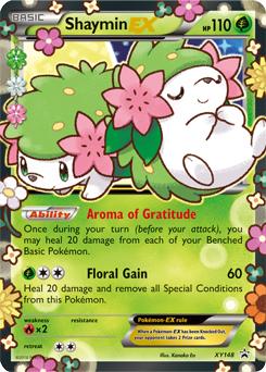 Shaymin Ex Xy Roaring Skies Tcg Card Database Pokemon Com