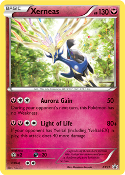 pokemon xerneas card