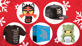 Fill Your Holiday Wish List at the Pokémon Center