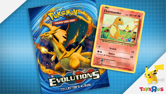 "Celebrate <em>XY—Evolutions</em> at Toys""R""Us"