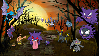 Celebrate Halloween All Month Long on Pokemon.com!