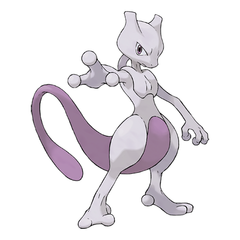 mewto pokémon legendario