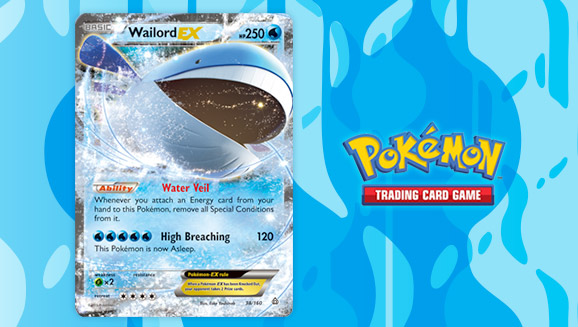Mega Whale Lord Pokemon Card Images | Pokemon Images Wailmer Pokemon Card