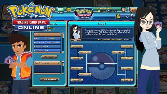 Pokémon TCG Online tournaments