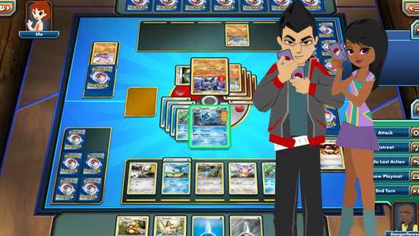 Pokemon trading card game online x and y