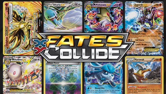 Browse the Cards of XY—Fates Collide
