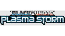 Black & White—Plasma Storm