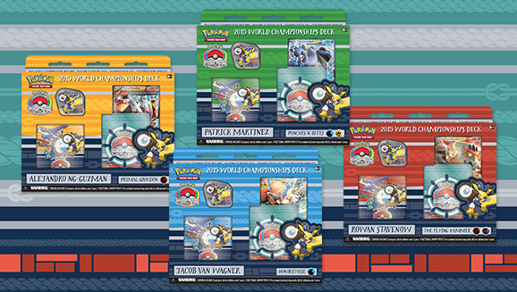 2015 Pokémon TCG World Championships Decks