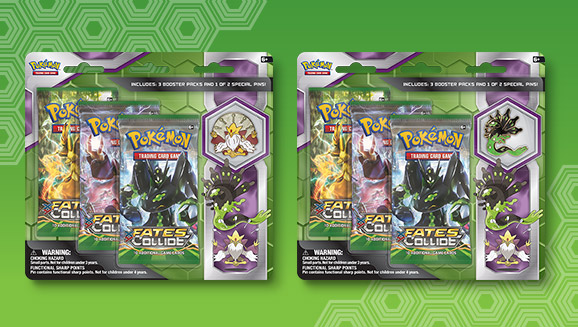 Mega Alakazam and Zygarde 3-Pack Pin Blister