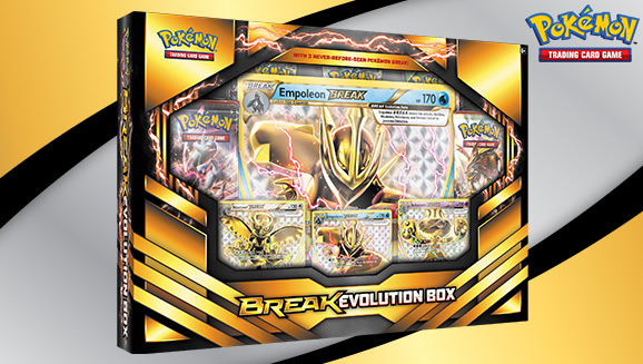 Pokémon TCG: BREAK Evolution Box