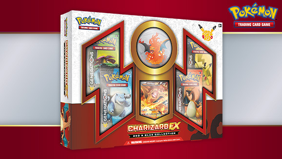 Pokémon TCG: Red & Blue Collection—Charizard-<em>EX</em>