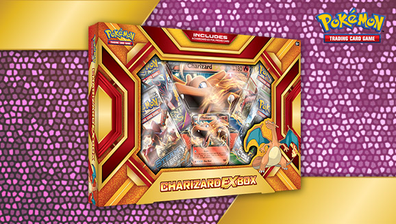 Pokémon TCG: Charizard-<em>EX</em> Box—Fire Blast