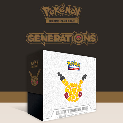 Celebrate 20 Years of Pokémon with the <em>Generations</em> Elite Trainer Box