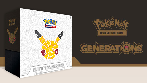 Pokémon TCG: Generations Elite Trainer Box