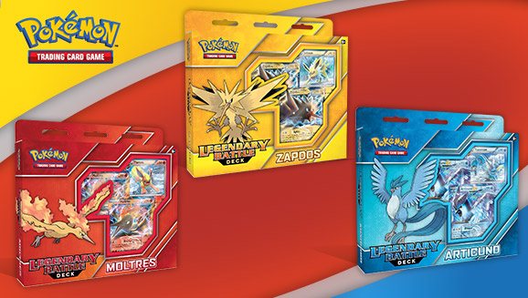 Pokémon TCG: Legendary Battle Decks