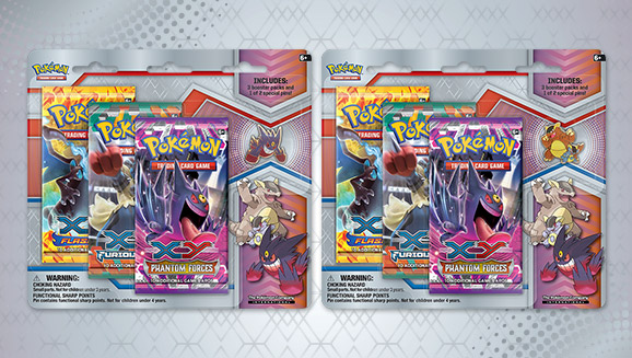 Pokémon TCG: Mega Evolution Collector's Pin 3-pack