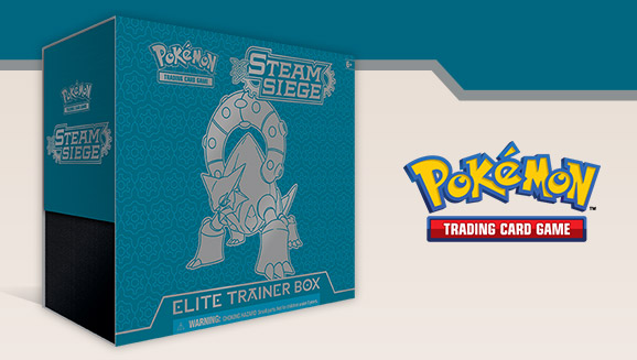 Pokémon TCG: XY—Steam Siege Elite Trainer Box