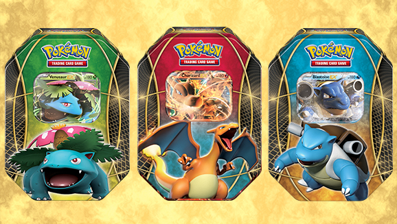 Pokémon TCG: <em>EX</em> Power Trio Tin