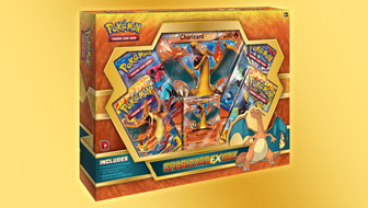 Pokémon TCG: Charizard-<em>EX</em> Box