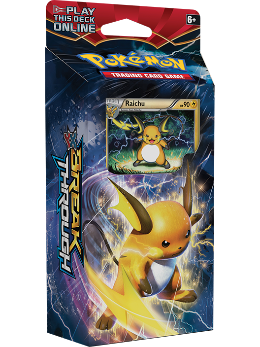 Theme Decks Xy Breakthrough Trading Card Game