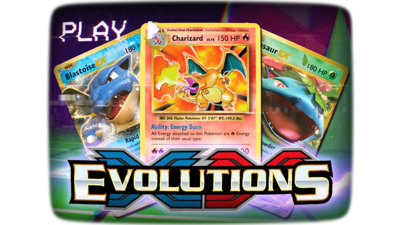 Xy series xy evolutions trading card game - Pokemon xy mega evolution ...