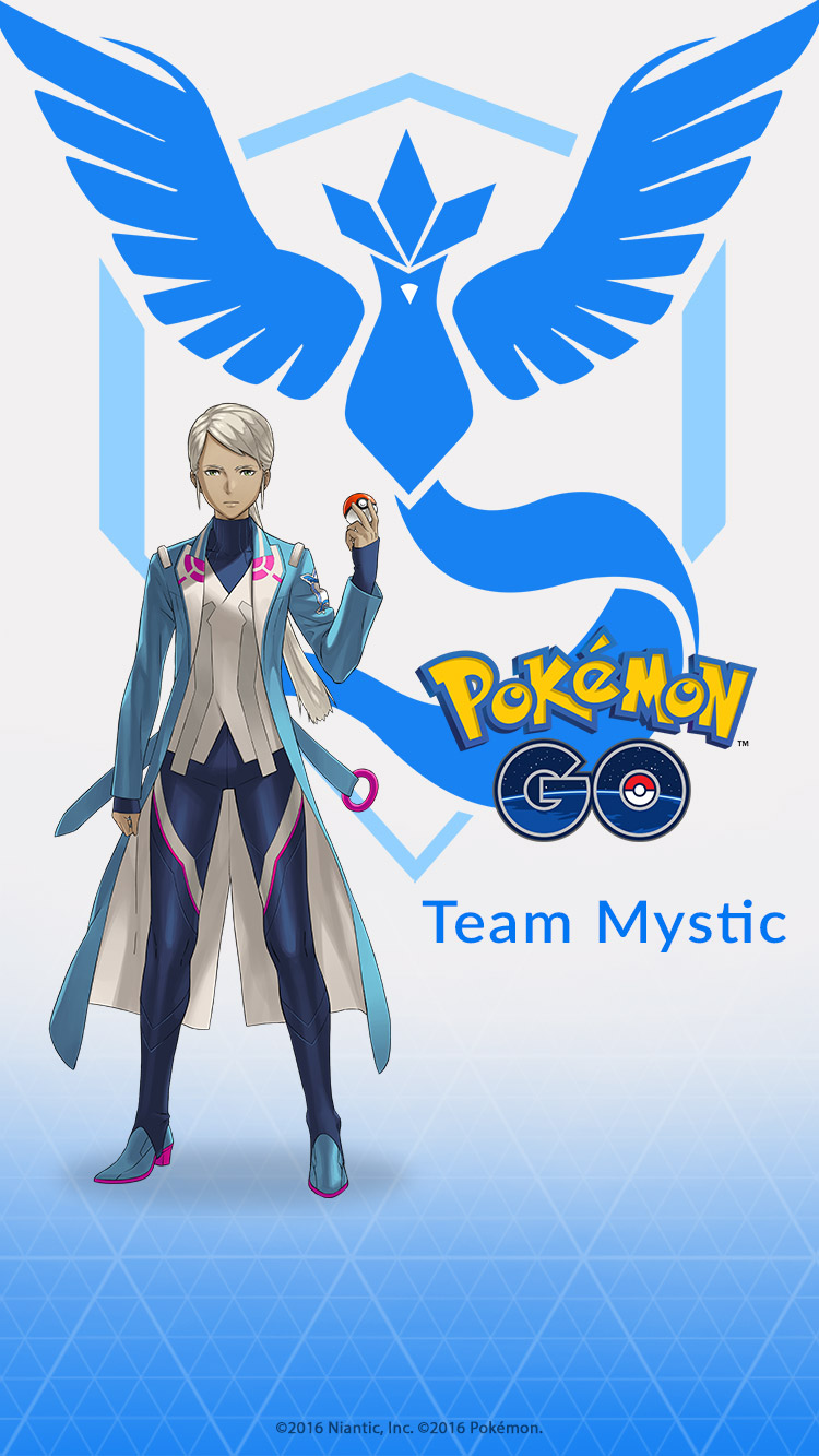 Pokemon GO Team Wallpapers Mystic 320 X 568