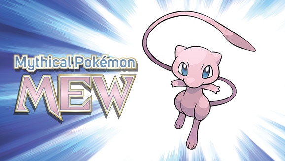 Don't Miss Mew at GameStop!
