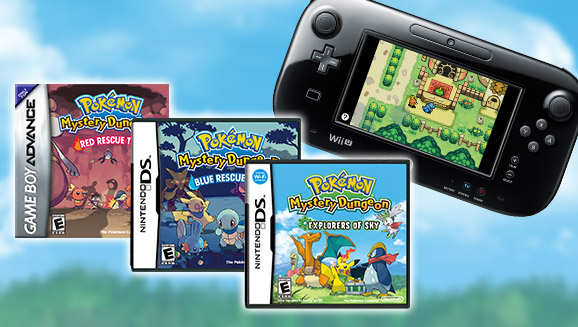 Pokémon Mystery Dungeon Games Come to Virtual Console