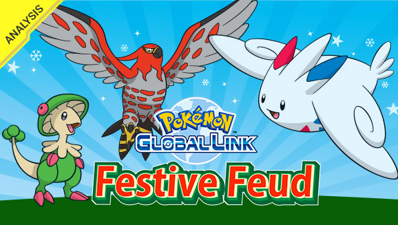 Find out which Pokémon were best of the holiday season in the Festive Feud Online Competition!