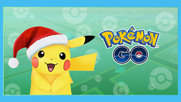 Pikachu Brings Holiday Cheer In Pokemon Go