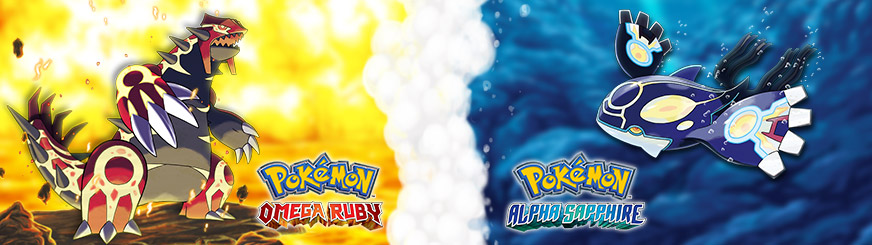 <em>Pokémon Omega Ruby</em> and <em>Pokémon Alpha Sapphire</em>