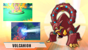 Meet the Steam Pokémon Volcanion!