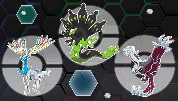 Get the Legendary Pokémon Yveltal!