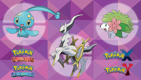 Mythical Pokémon Distribution Round-Up, Part 2!