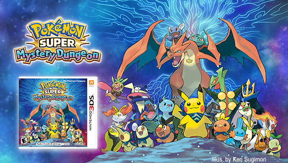 <em>Pokémon Super Mystery Dungeon</em> Is Now Available!