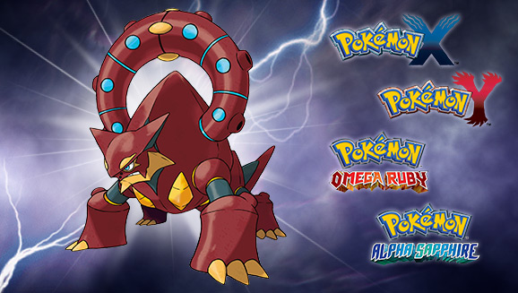 Volcanion Heats Up October