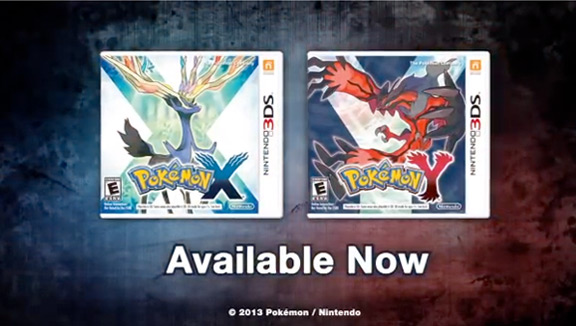 Pokemon x and y game slots